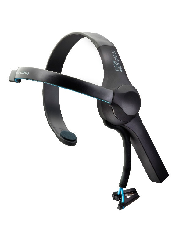 MindWave是美国 NeuroSky (神念科技)开发的脑电波耳机